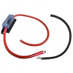 Câble avec porte fusible 1m / 70mm2