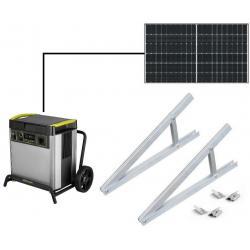 Câble solaire rouge 6 mm2 - 10 m avec connecteur