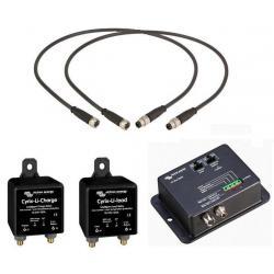Chargeur de batteries 12/15-IP65 230V/50Hz + connecteur DC